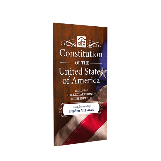 Partner with us and receive a free Pocket Constitution