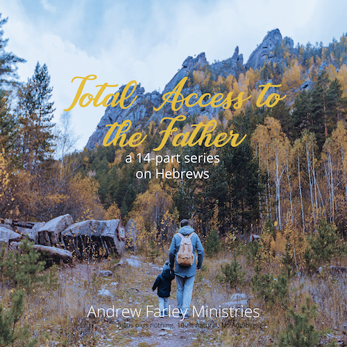 Live in the freedom of grace with 'Total Access to the Father'