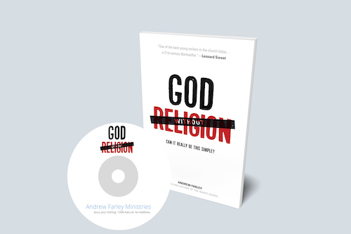 Break free from spiritual burnout and experience God without religion!