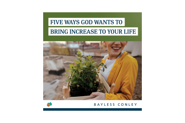 Discover how God wants to increase your life as you follow Him!