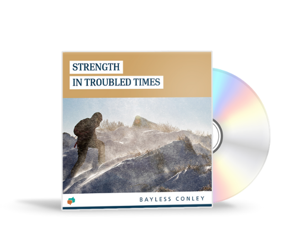 Stand strong in God's promises when hard times hit!