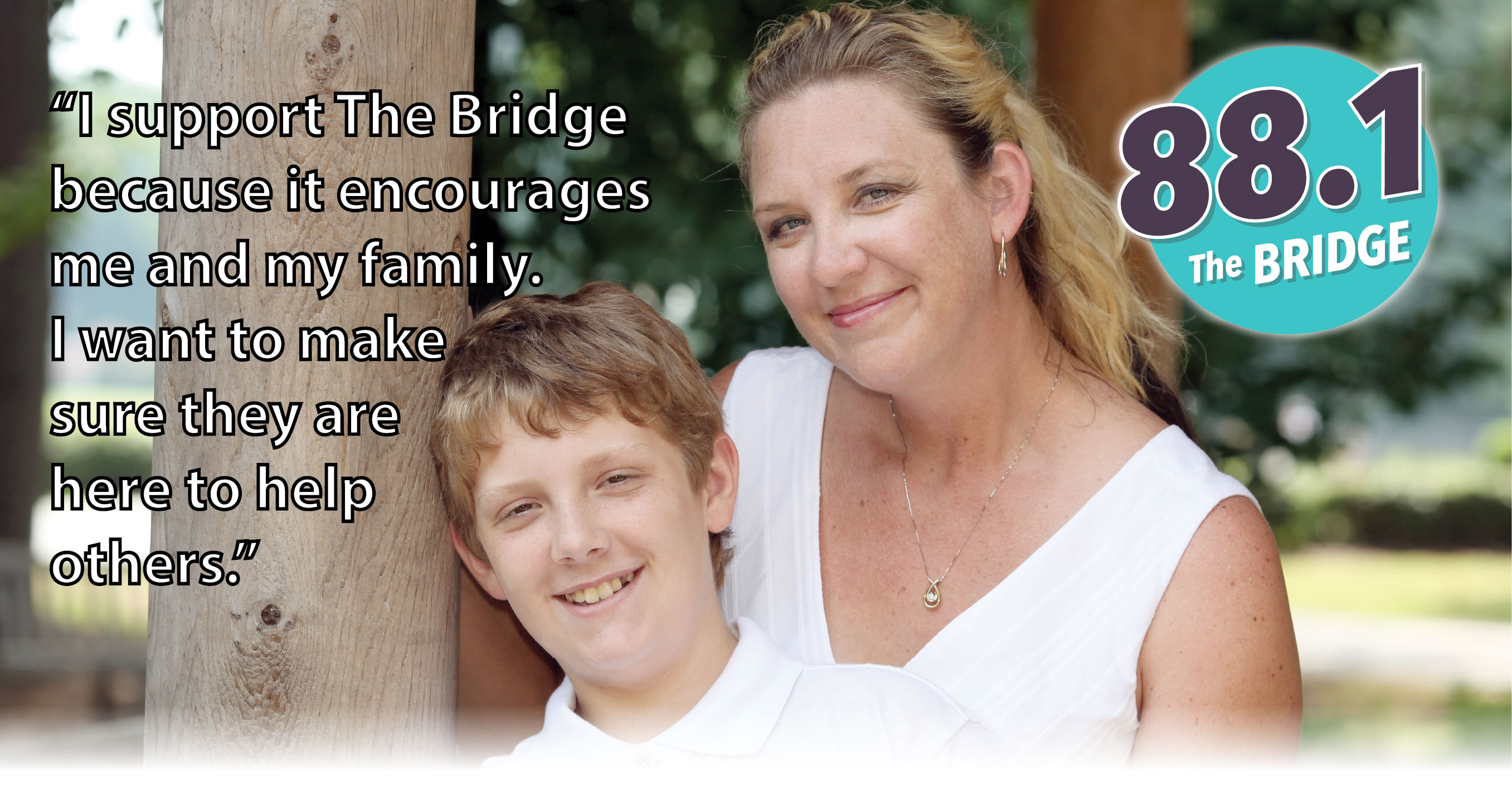 The Bridge moves people to experience God.  Join us.