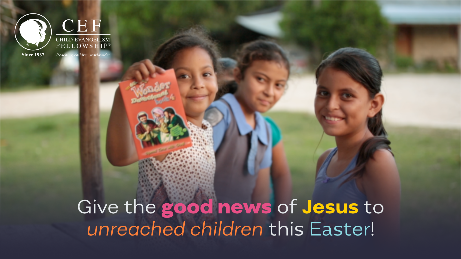 You can give the Gospel to children this Easter!