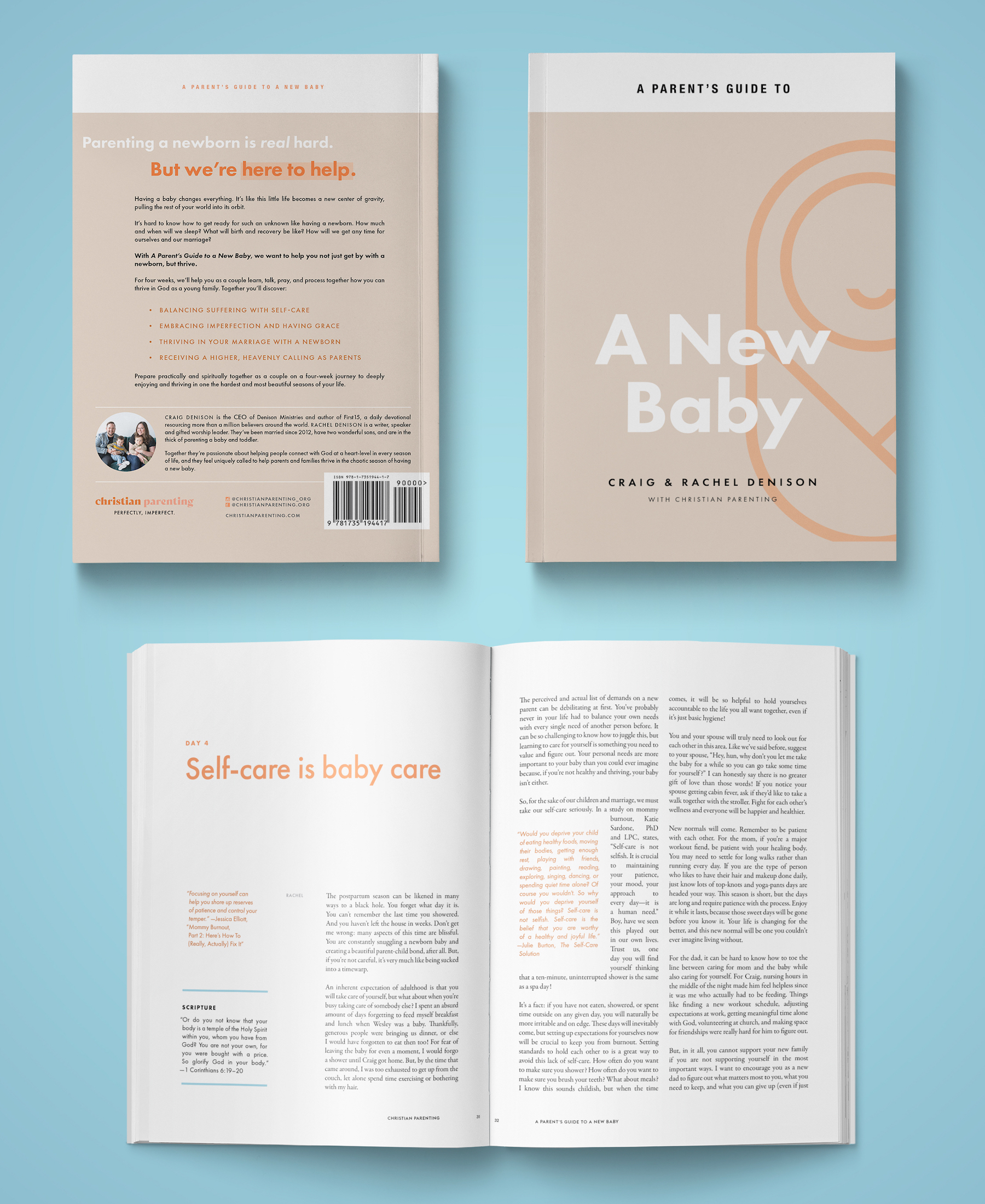 Your practical and spiritual guide to welcome a new baby into the world