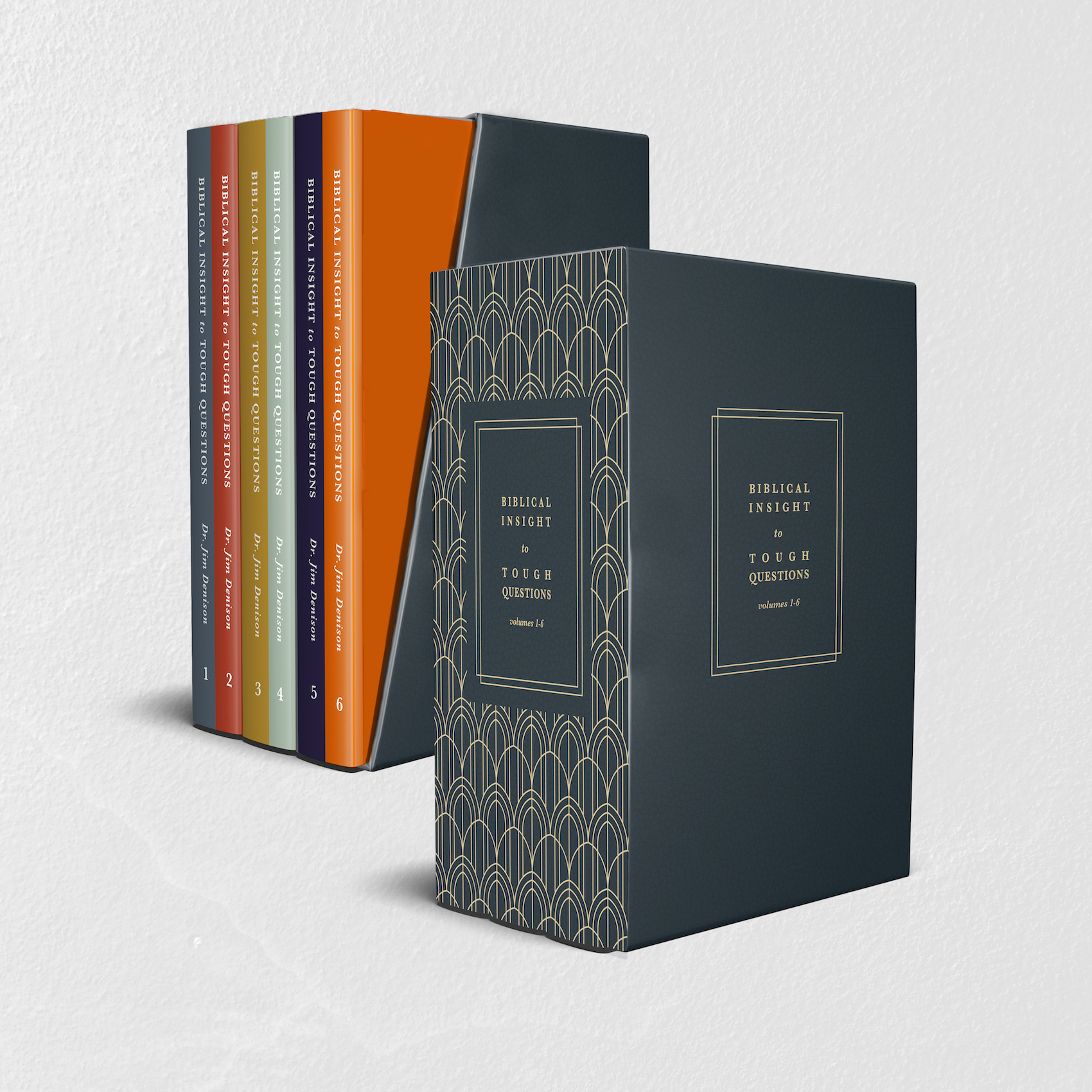 """Request our beautifully designed, limited-edition box set of the """"Biblical Insight to Tough Questions"""" series."""