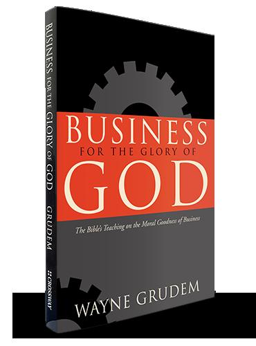 <center>Can Business Glorify God?</center>