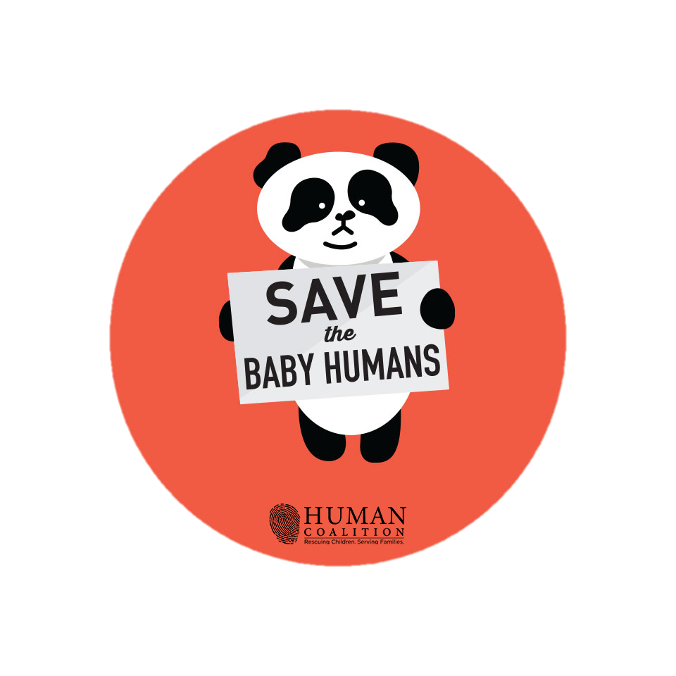 Help Rescue THREE TIMES As Many Children — And get a FREE Save the Baby Humans Sticker