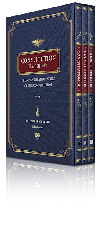 "Get Your DVD Box Set of ""Constitution 101"" Today"