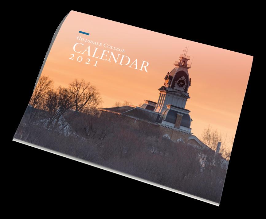 Hillsdale College Calendar 2021