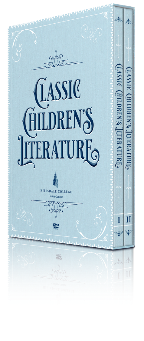 """Pass on timeless stories and instill virtue and character in young Americans with the """"Classic Children's Literature"""" course DVD."""