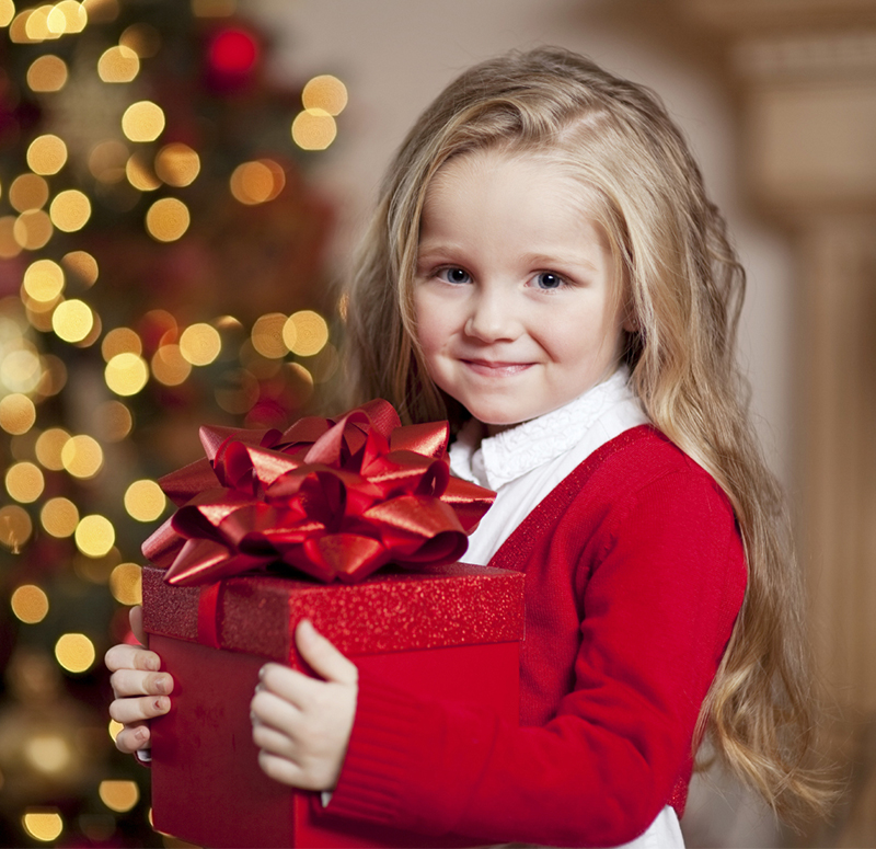 Give a special Christmas gift to the children!