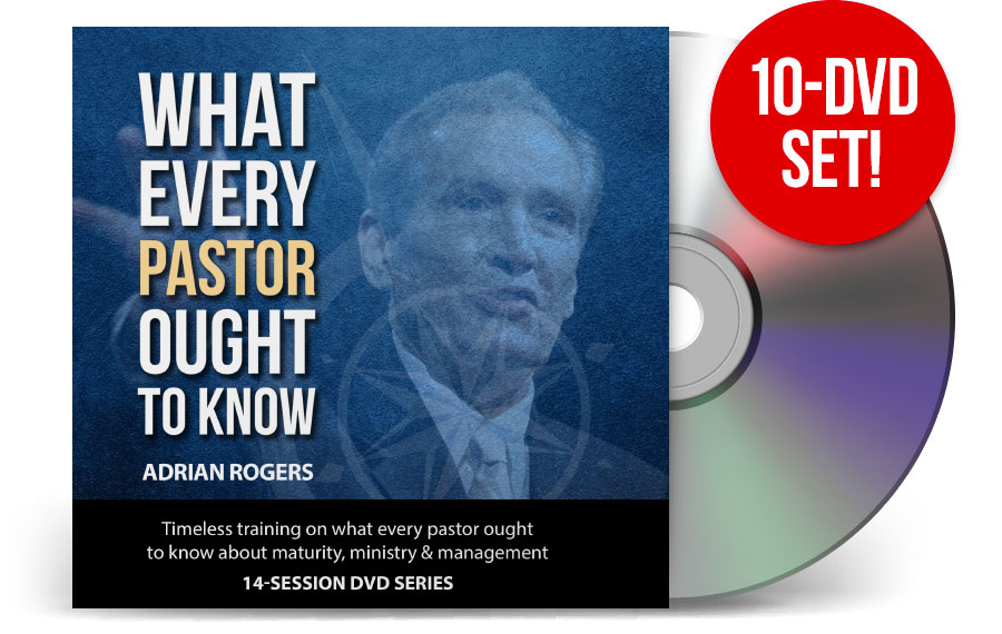 What Every Pastor Ought To Know - 10 DVDs and PDF workbook (PRDVD)