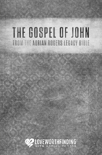 3-Pack of The Gospel of John from The Adrian Rogers Legacy Bible (PKB128)