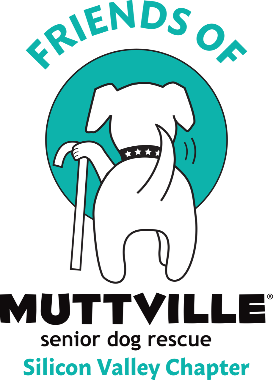 Friends of Muttville is a group of passionate volunteers creating awareness for Muttville Senior Dog Rescue, a 501(c)(3) nonprofit organization.