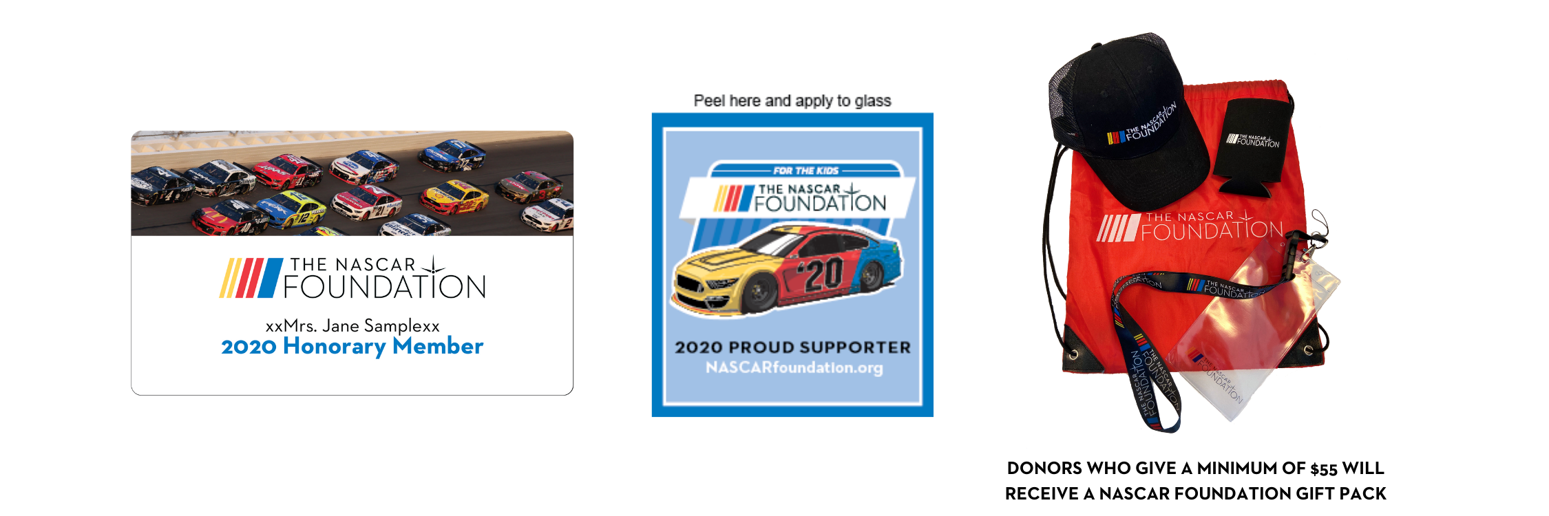 Yes!  I want to join The NASCAR Foundation's crew!