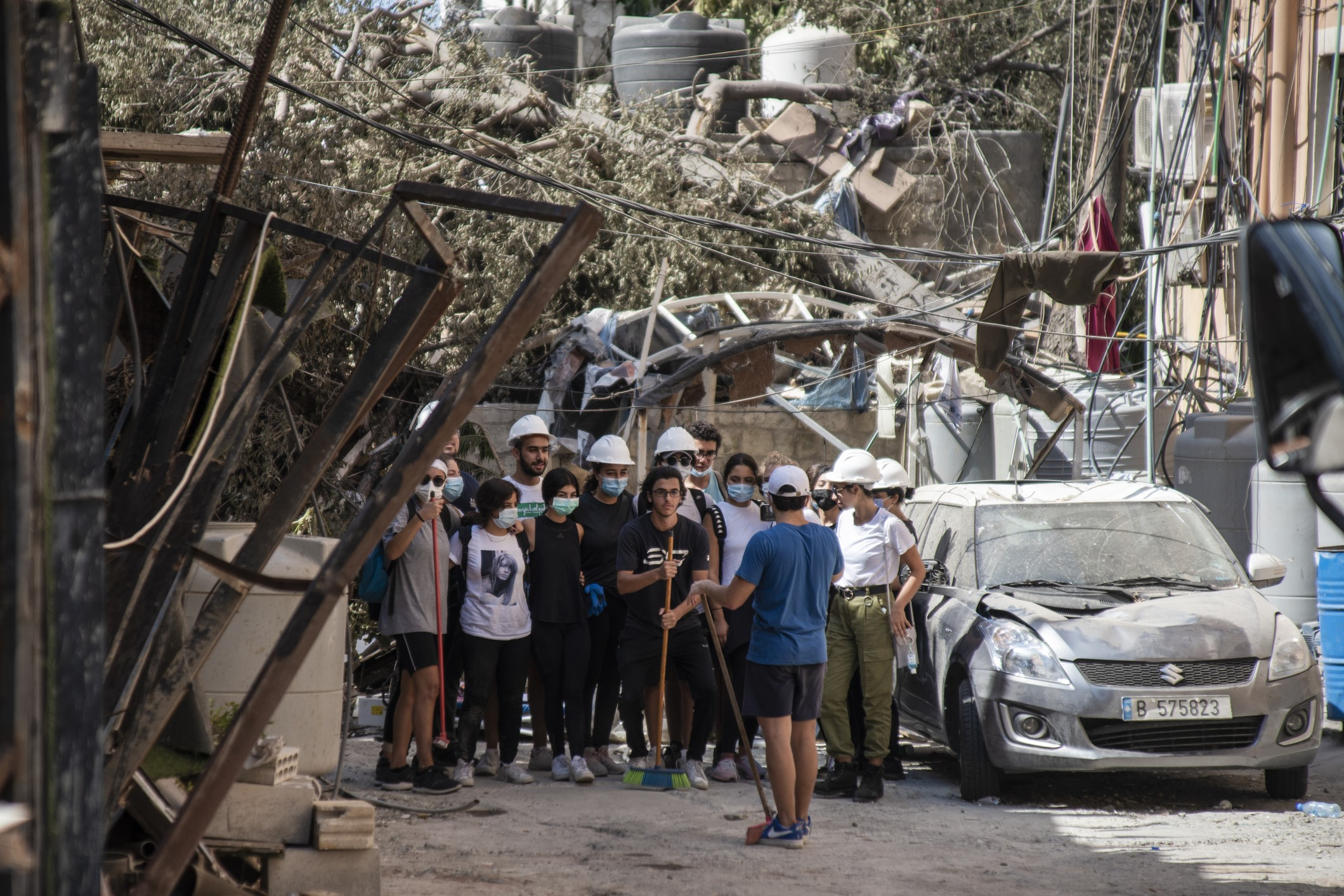 During the massive explosion last month, thousands of people in Beirut lost loved ones, their homes, their livelihoods and all sense of security.