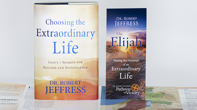 Choosing The Extraordinary Life book + The Elijah Map