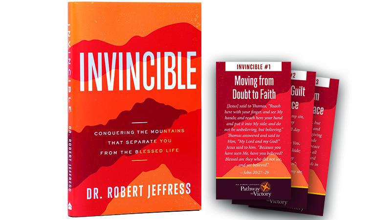Invincible Hardcover Book plus Encouragement Cards