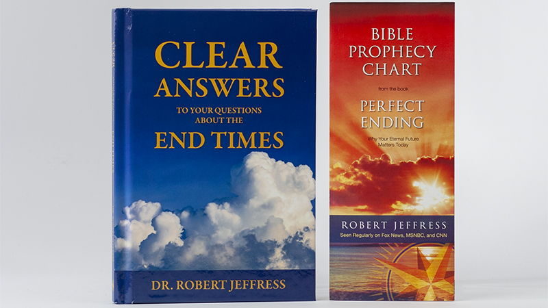 Clear Answers To Your Questions About The End Times book and The Bible Prophecy Chart