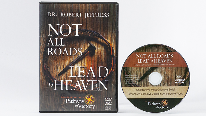 Not All Roads Lead To Heaven DVD Video and MP3-format audio disc