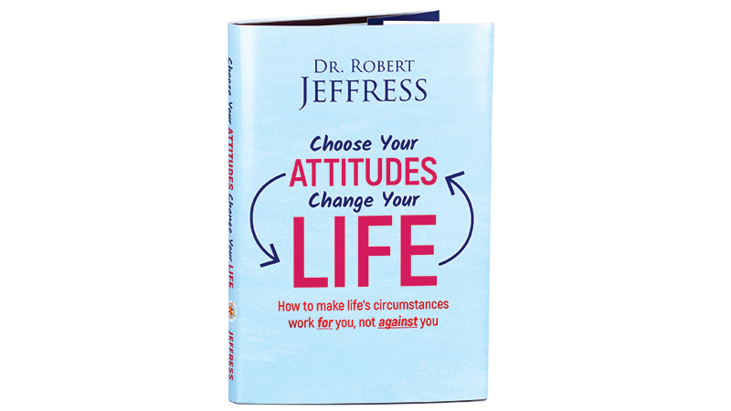 Choose Your Attitudes, Change Your Life book with our thanks for your generous support!