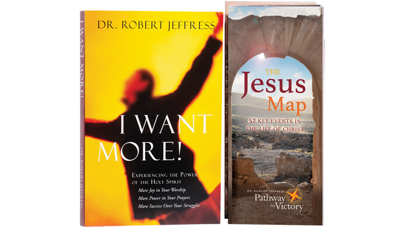 I Want More! book plus The Jesus Map