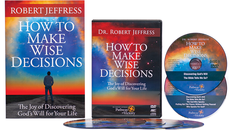 How To Make Wise Decisions soft-cover book + DVD Video and MP3-format audio disc set