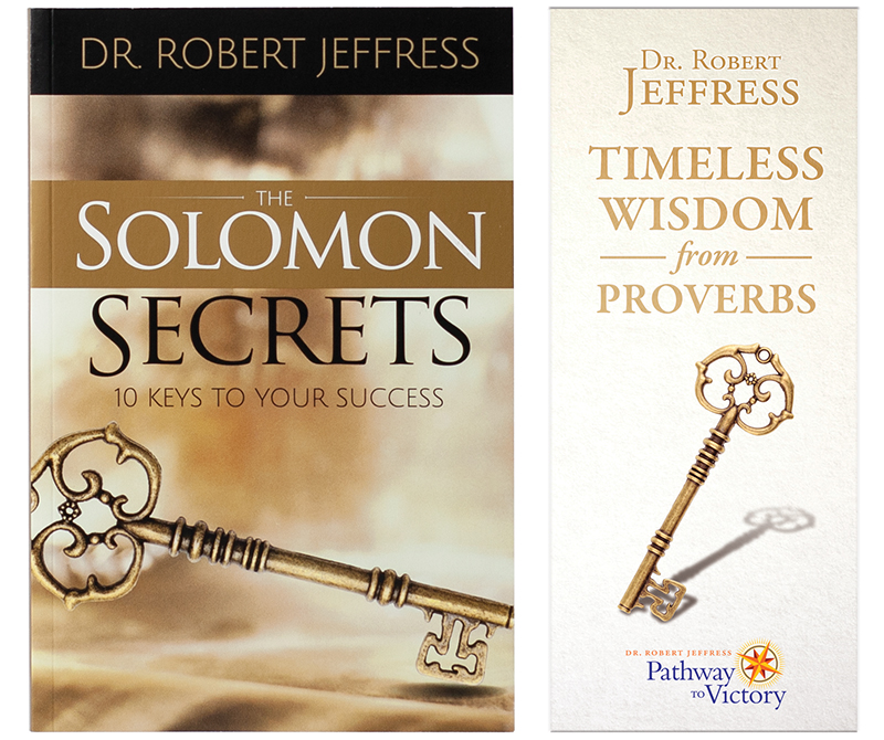 The Solomon Secrets book + Timeless Wisdom From Proverbs booklet