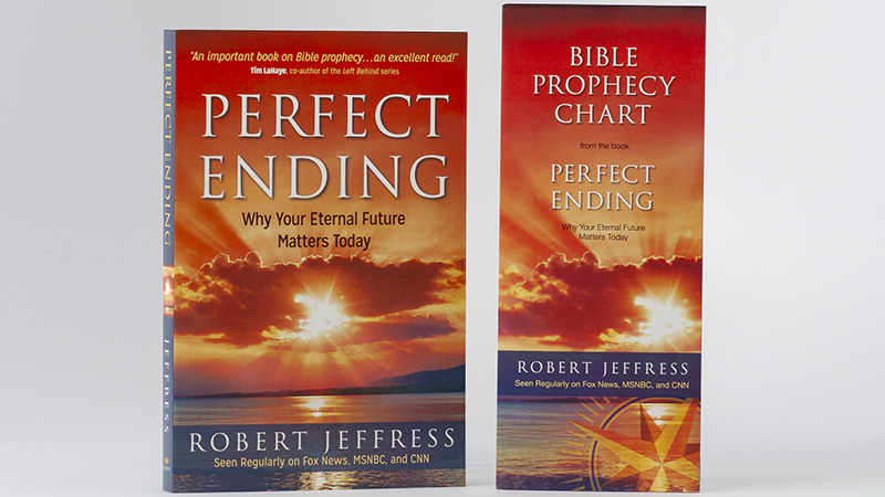 Perfect Ending book and The Bible Prophecy Chart