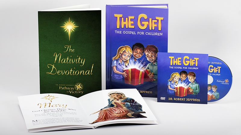 The Nativity Devotional and The Gift: The Gospel for Children