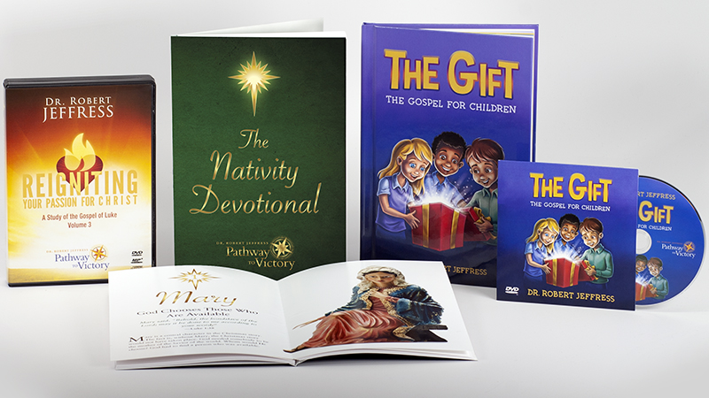 The Nativity Devotional, The Gift, and volume 3 of Reigniting Your Passion for Christ