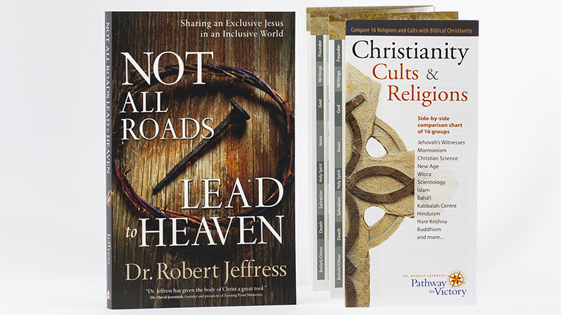 Not All Roads Lead To Heaven and Christianity Cults and Religions brochure