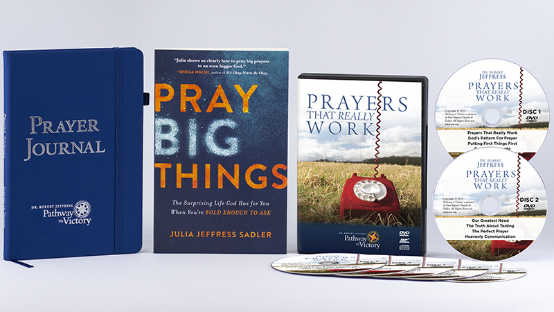 Pray Big Things, the Pathway to Victory Prayer Journal, and Prayers That Really Work