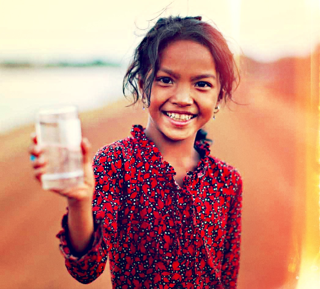 663 million people in the world live without clean water.