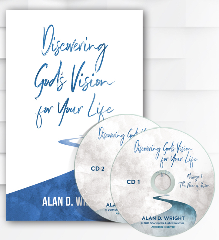 Discovering God's Vision for Your Life CD Album and Booklet