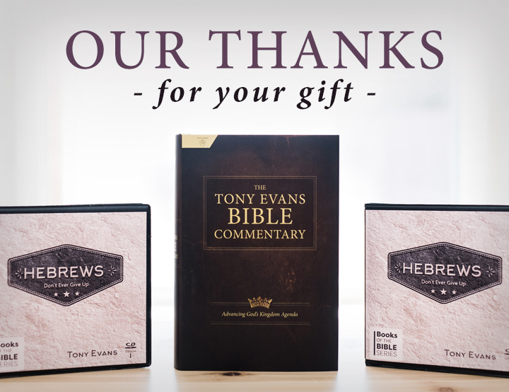 Get Tony's New, Fast-Selling Bible Commentary
